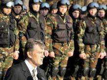 Ющенко направил миротворцев в Ирак