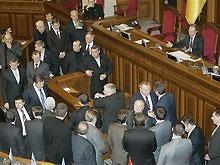 Оппозиция заблокировала Раду. Объявлен еще один перерыв