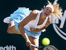 Теннис: Украинская теннисистка остановлена Шараповой