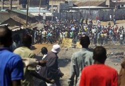 Кенийские повстанцы сожгли в церкви несколько десятков человек