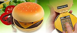В США входят в моду телефоны в виде гамбургера