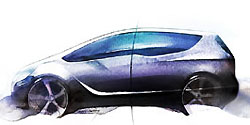Opel нарисовал новую Meriva
