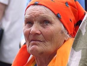 Наша Украина отказывается включать бабу Параску в предвыборный список