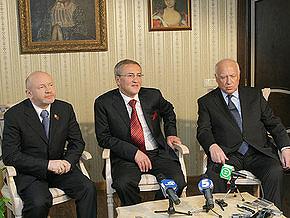 Черновецкий угощал Черномырдина в ресторане, где оливье стоит 105 гривен