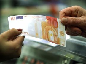 НБУ повысил курс евро на 22 копейки