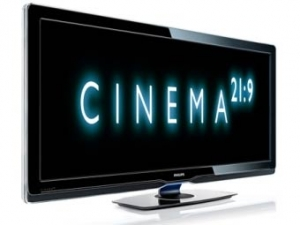 Philips представила самый широкоэкранный телевизор в мире