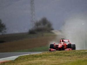 Кими Райкконен протестировал Ferrari F60 в Мюджелло