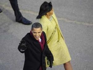 Барак Обама прибыл в Белый дом