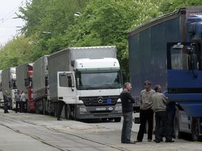 Украинские автоперевозчики готовят акцию протеста