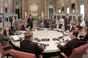 Министры G8: Глобальный экономический кризис продлится до конца 2009-го года