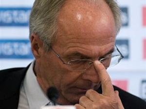Свен-Горан Эрикссон уволен с поста главного тренера сборной Мексики