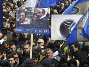 Грузинская оппозиция будет круглосуточно пикетировать все входы в парламент