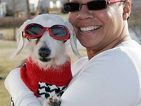 Самой старой собаке в мире исполнился 21 год