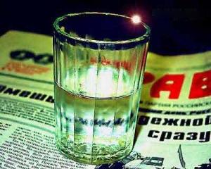 Украинцы переходят на дешевую водку