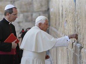 В Израиле Папа Римский помолился у Стены плача и поднялся на Храмовую гору