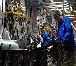 С начала года промпроизводство Украины упало на 31,9%