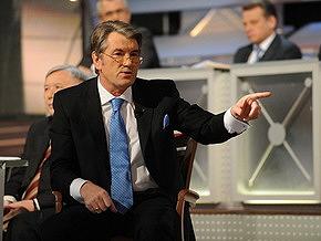"Ющенко придет на ""Свободу на Интере"""