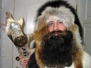 Американец с бородой-снегоступом выиграл чемпионат бородачей