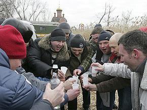 В России насчитали два миллиона алкоголиков