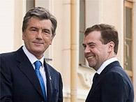 Ющенко заявляет, что Медведев игнорирует его предложение встретиться