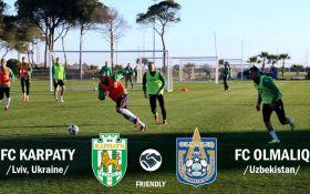 Карпати - Олмалик - 3-1: Відео матчу