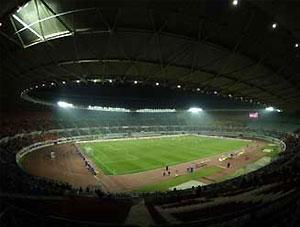 Стадионы Евро-2008 оборудовали местами для слепых