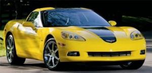 Суперкар Chevrolet Corvette выдают напрокат