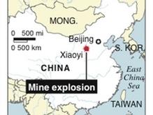 Авария на китайской шахте: под завалами оказались 43 горняка