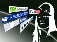 Facebook догнал по посещаемости MySpace