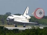 Discovery без проблем осуществил посадку
