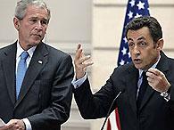 Буш и Саркози объединяются против Ирана