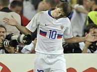Евро-2008: Аршавин вошел в десятку лучших игроков