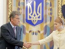 Ющенко утвердил газовые директивы для визита Тимошенко в Москву