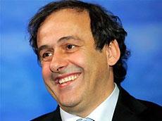 Президент УЕФА Платини приедет в Украину 3 июля