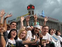 В Киеве пройдут народные гуляния ко Дню молодежи