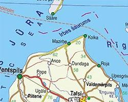 У берегов Латвии на мель сел круизный лайнер