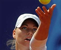 Вера Звонарева выиграла теннисный турнир в Праге