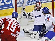 Хоккеисты сборной Чехии разгромили итальянцев