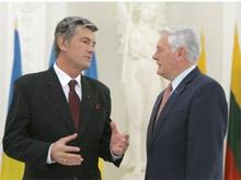 Ющенко и Адамкус подписали декларацию о партнерстве