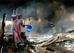 Нигерия. Взрывом нефтепровода уничтожен поселок