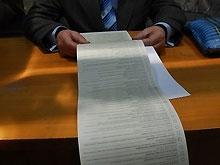Киевский теризбирком не спешит подсчитывать голоса