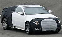 Сфотографирован прототип серийной версии Cadillac CTS Coupe