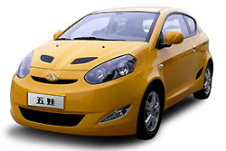 Chery создала целое семейство новых автомобилей Faira