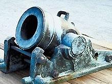 Белорусские строители нашли старинные пушки