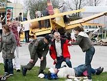Авиашоу в Германии закончилось трагедией