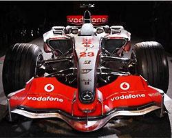 McLaren Mercedes презентовала новый болид