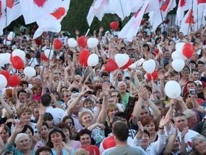 Сторонники БЮТ пикетируют Апелляционный админсуд Киева