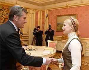 Тимошенко просит Ющенко отменить досрочные выборы