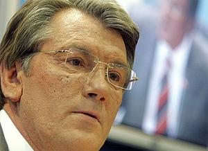 Ющенко просит Тимошенко не блокировать трибуну