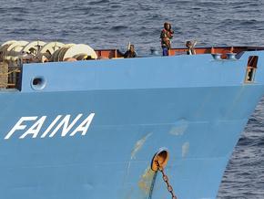"""Сомалийские пираты заявили, что скоро освободят """"Фаину"""""""